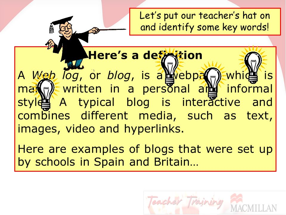 In this presentation we will    Learn what blogs and wikis are Look