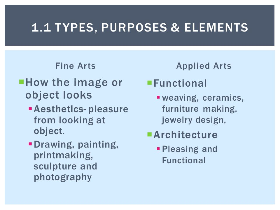 The Structure And Purposes Of Visual Art Fine Arts How The Image Or Object Looks Aesthetics Pleasure From Looking At Object Drawing Painting Ppt Download