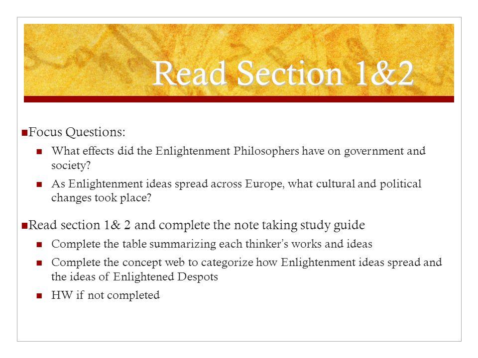 2 4 15 New Semester Fresh Start Introduce The Enlightenment