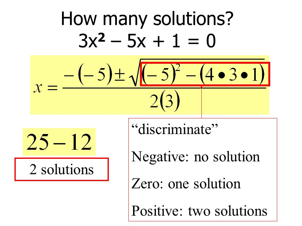 How many solutions.