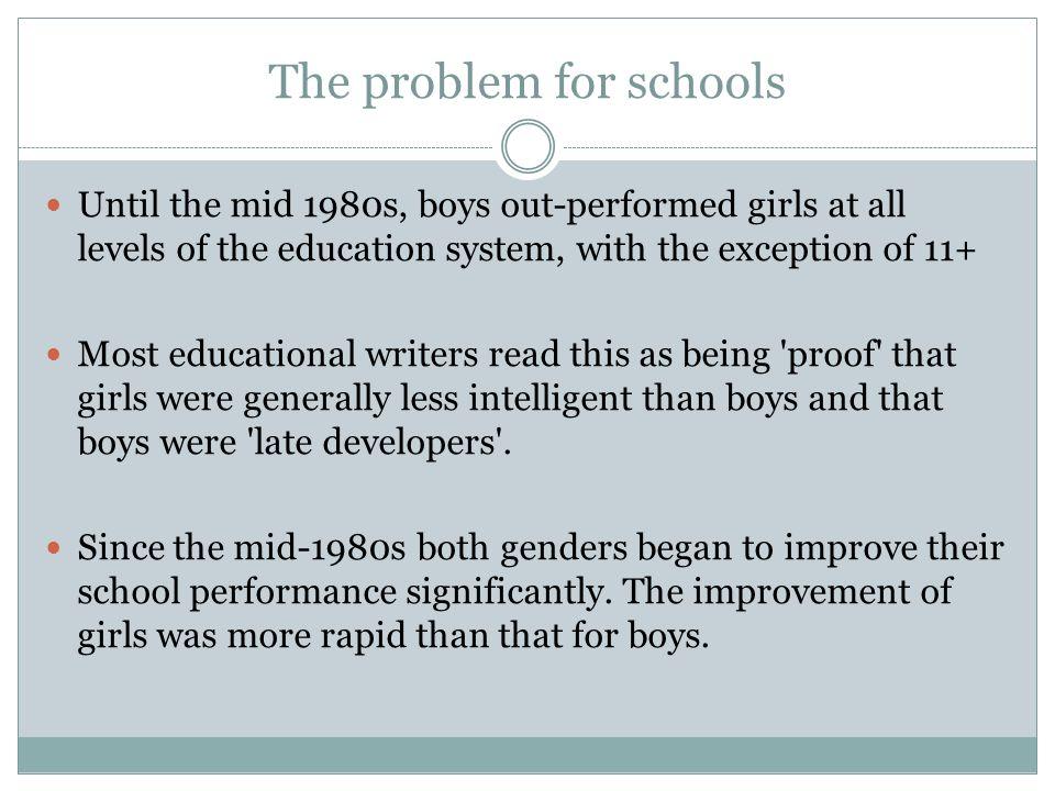 girls are intelligent than boys