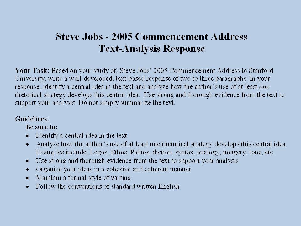 steve jobs stanford commencement speech 2005 summary