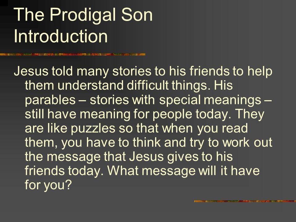 the prodigal son summary