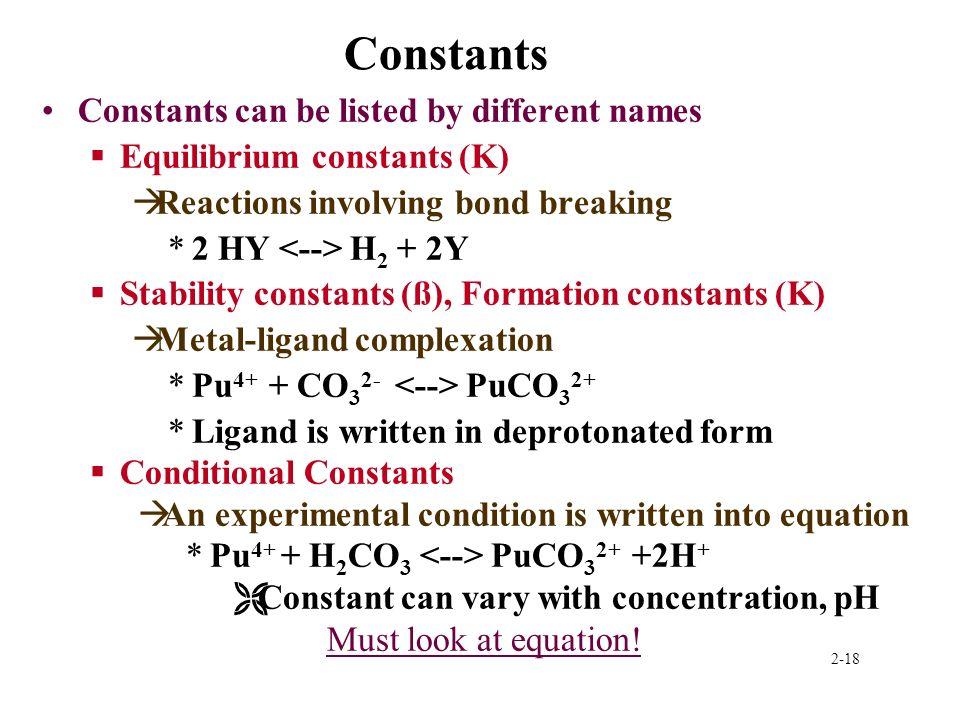 2-1 Thermodynamics and kinetics Thermodynamic laws Half-cell