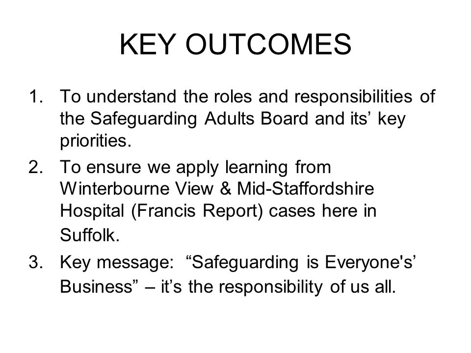 Staffordshire safeguarding adults board