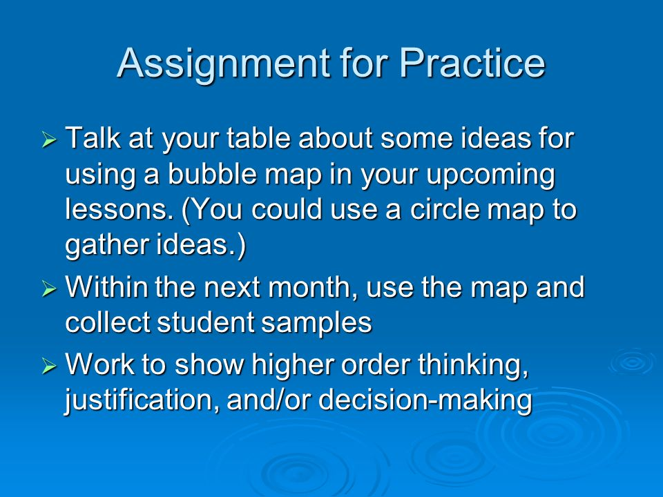 Thinking Maps Session 3 Bubble Maps  Bubble Map Basics  Name