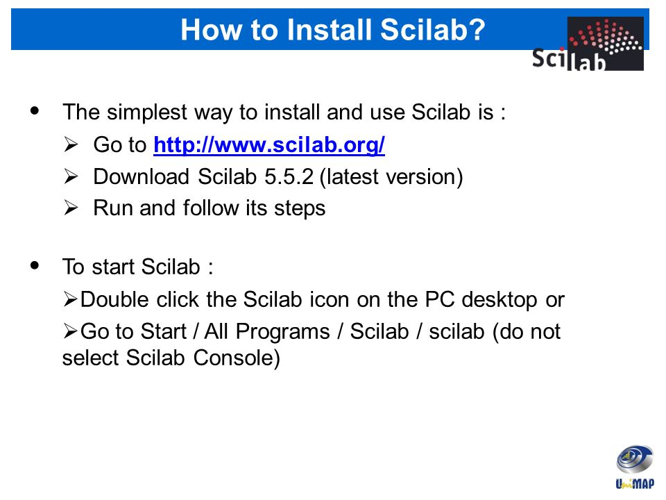 Part 1 Introductory to Scilab Course  Outline Views 1 0