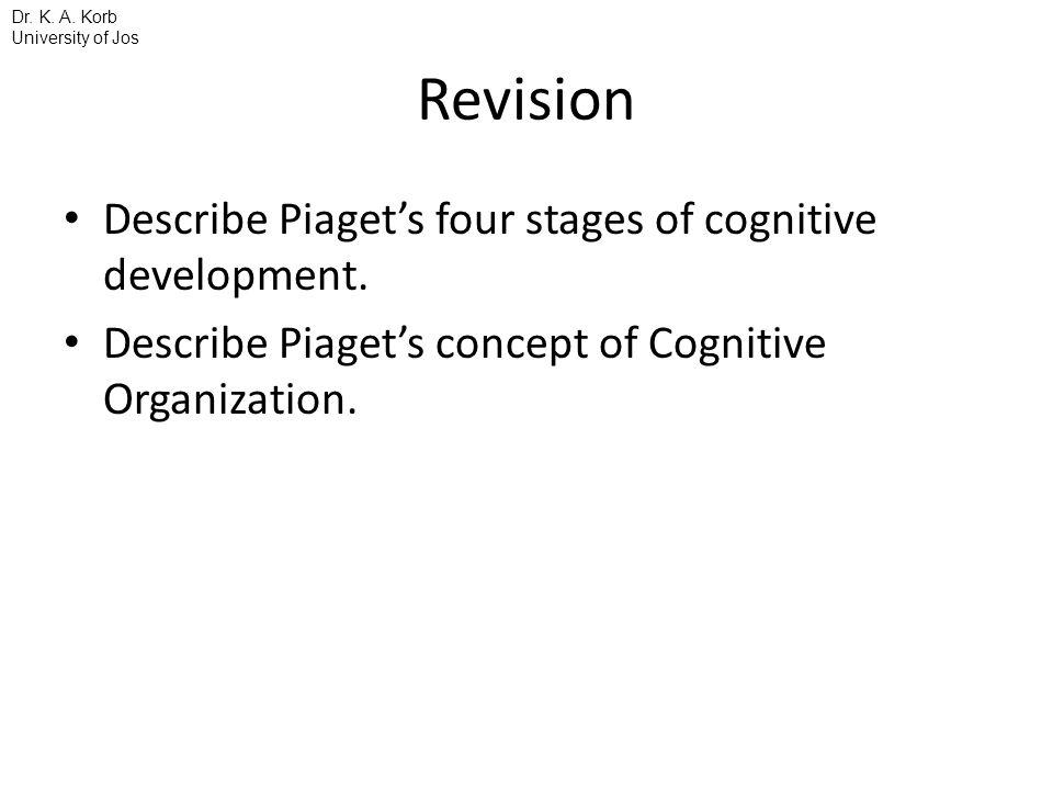 concept of cognitive development