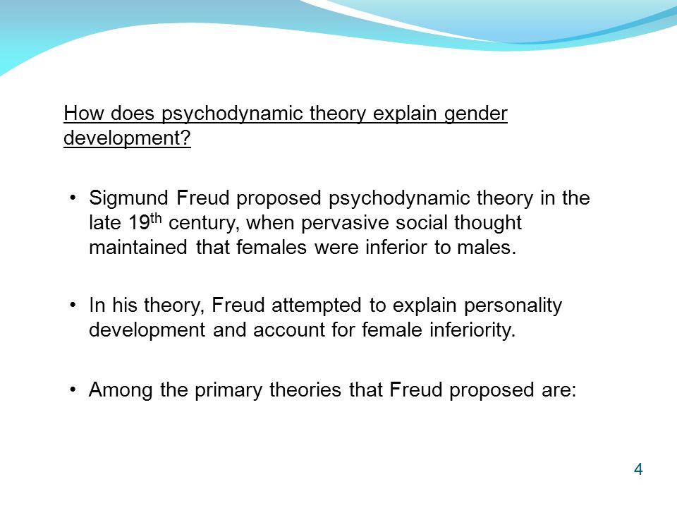 freud psychodynamic theory