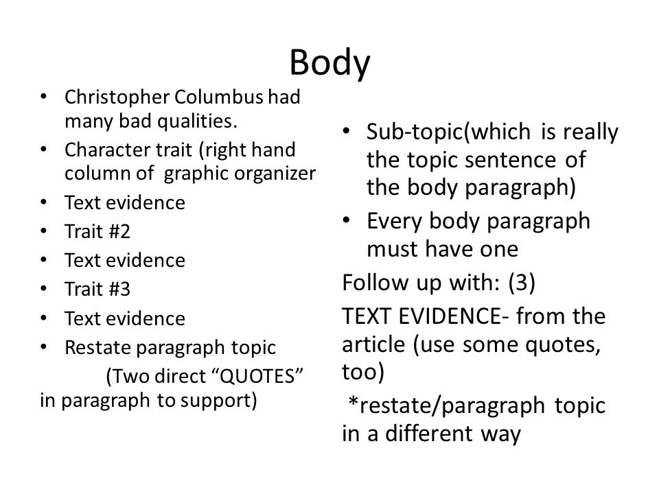 Christopher Columbus Essay Attention Getter