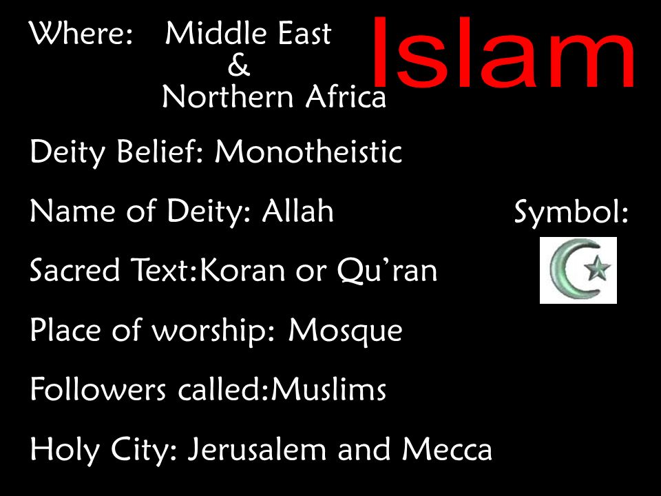 Judaism Christianity Islam Hinduism Buddhism Where Israel Deity