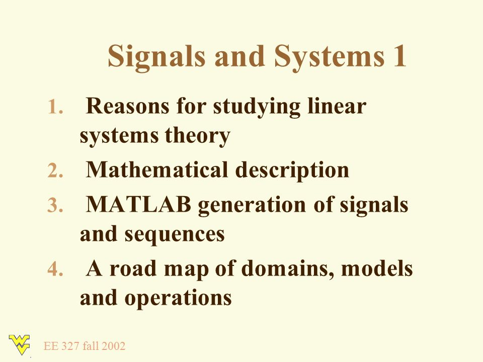 Signals and Systems 1 Lecture 1 Dr  Ali  A  Jalali August 19