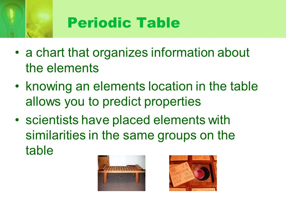 Chapter 6 periodic table world of chemistry harry potterharry potter 2 periodic urtaz Images