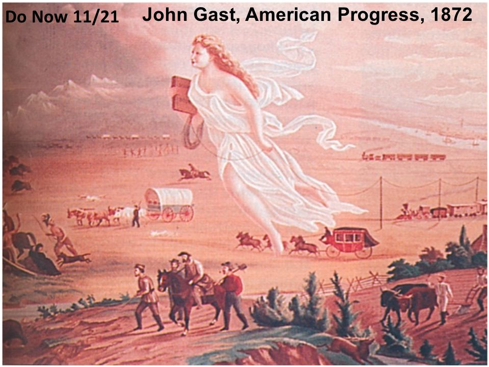 john gast american progress meaning