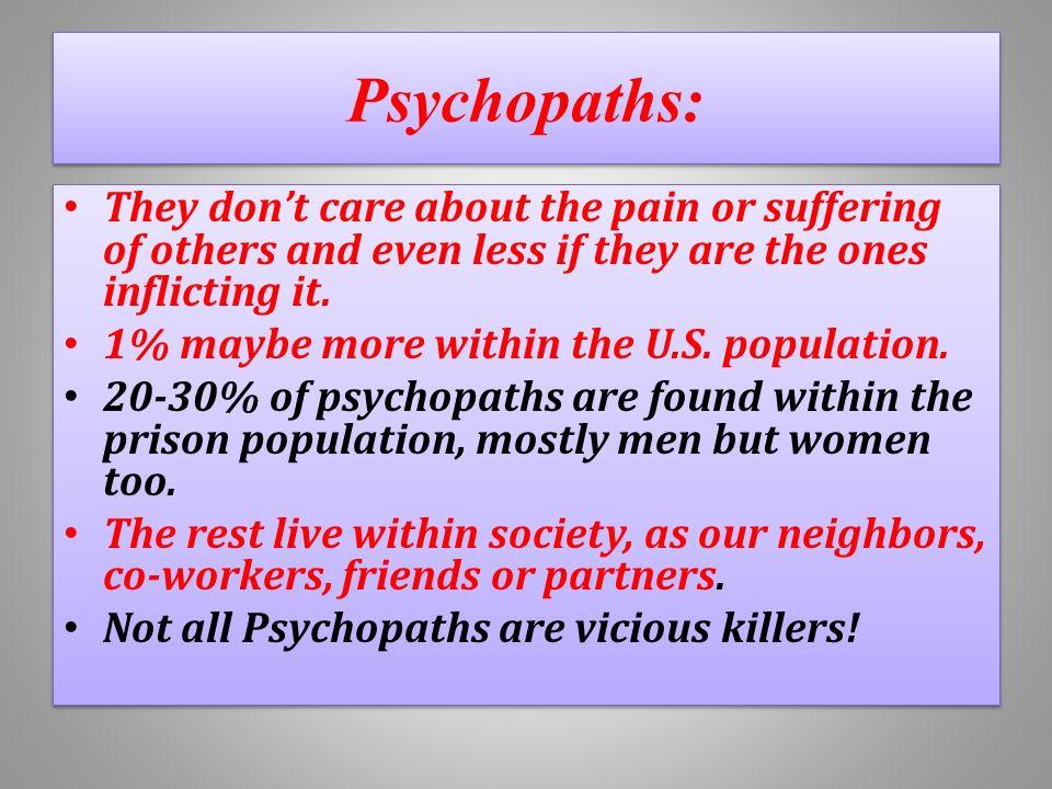 Psychopathic behavior in relationships