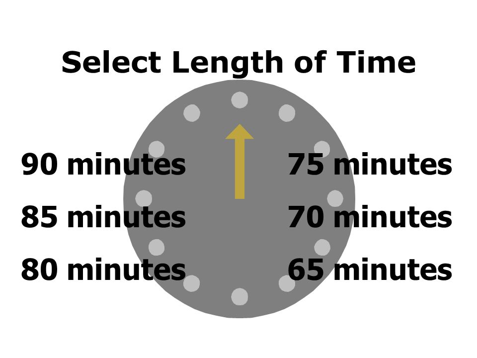 2 Cl Room Timer Select A Time To Count Down From The Clock Above  Min  Min  Min 5 Min Or Less  Min  Min 35