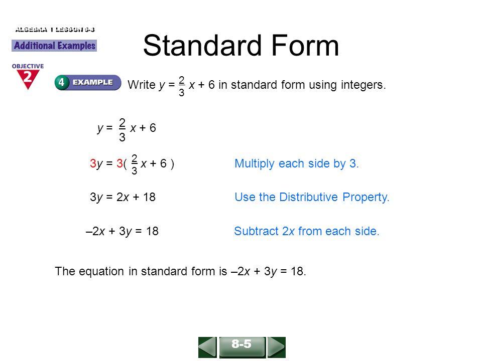 Solve Each Equation For Y 1 3x Y 52 Y 2x X Y X 4y