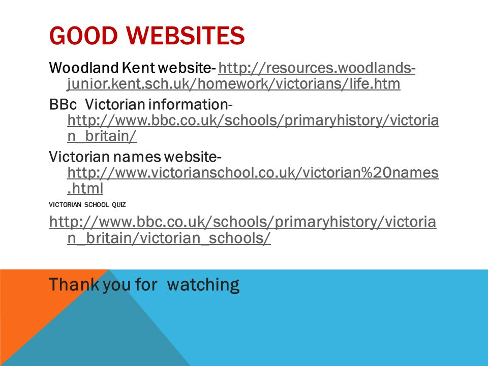 woodlands junior kent sch uk homework victorians