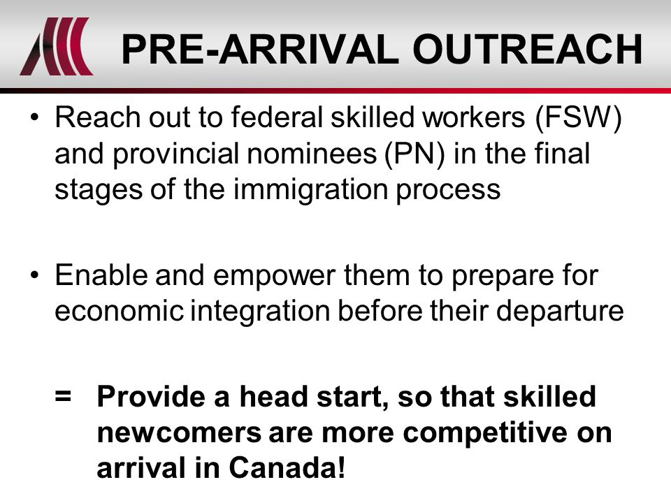 Ciip Overseas Orientation Planning And Referrals For Economic