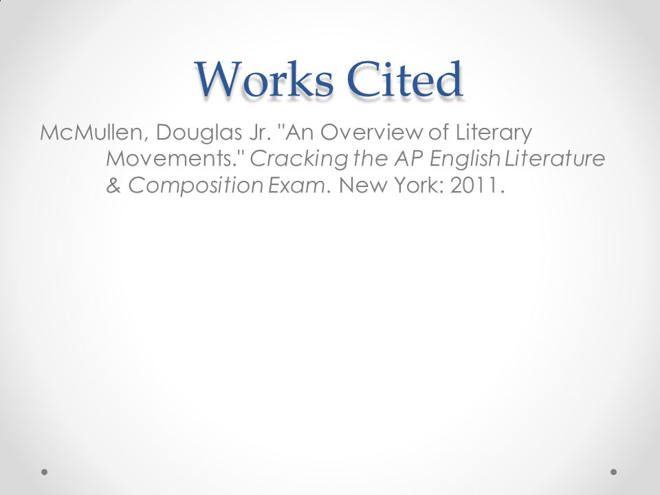 Contemporary Poetry Review Adapted From The College Board Ap Test