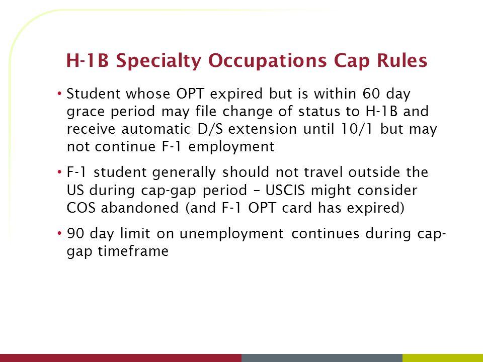 F-1 OPT and Beyond: Employment Options after Graduation Garnette