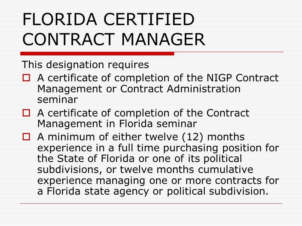 public purchasing in florida purchasing management (rev. 09/07/05 ...