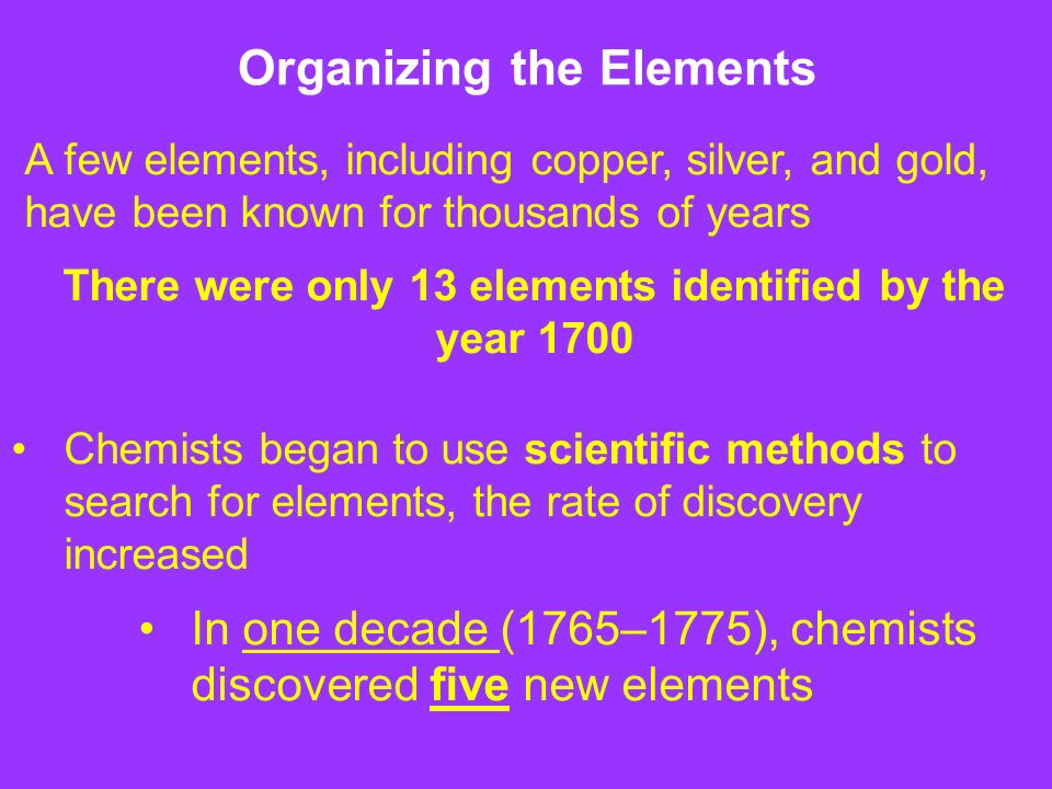 The periodic table chapter 6 ppt download 2 organizing the elements urtaz Images