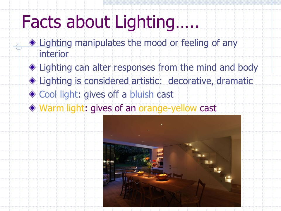 Lighting In Interior Design. 2 Facts About Lightingu2026