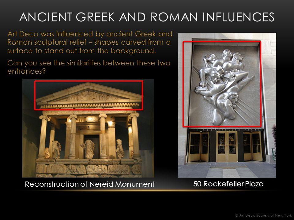 similarities between greek and roman art