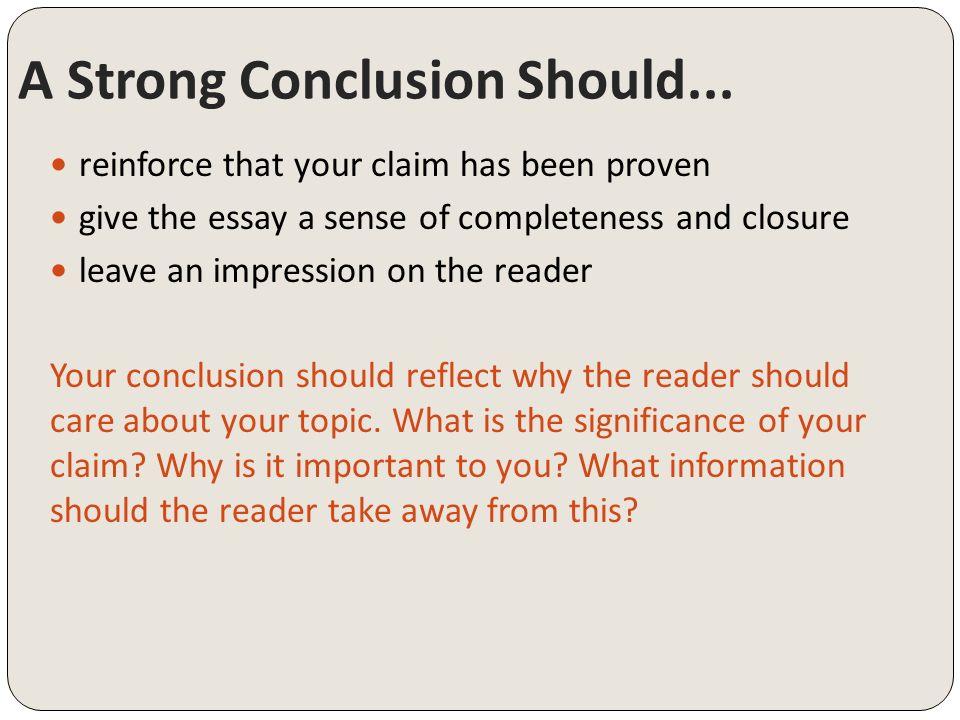 Grade 8 argumentative writing conclusions copyright 2015 write