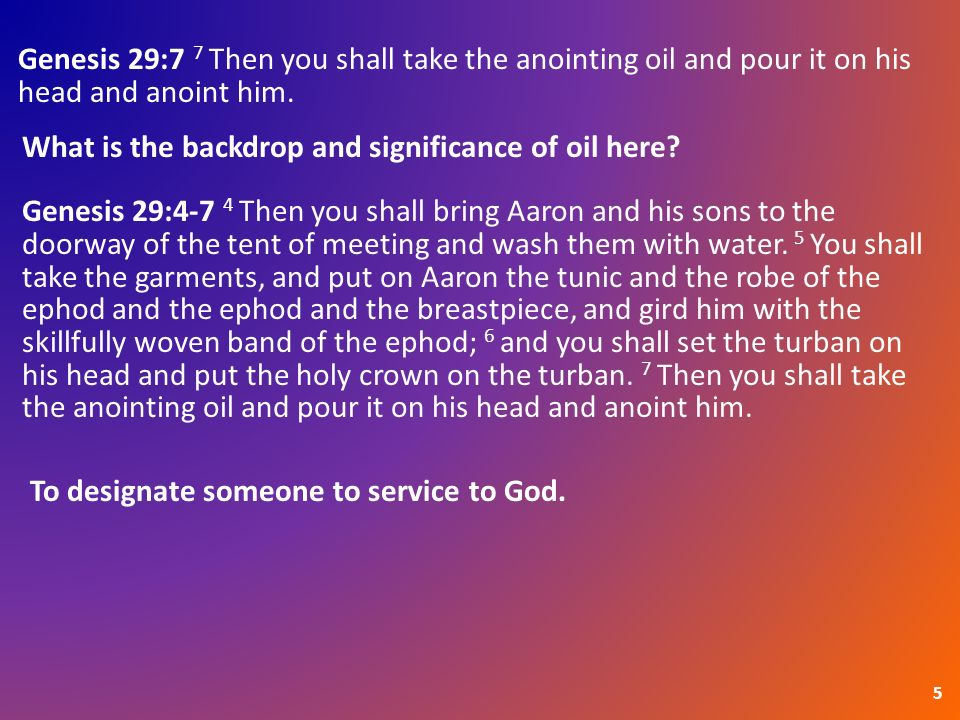 Samuel Anoints David 1  1 Samuel 16:1a 1a The L ORD said to Samuel