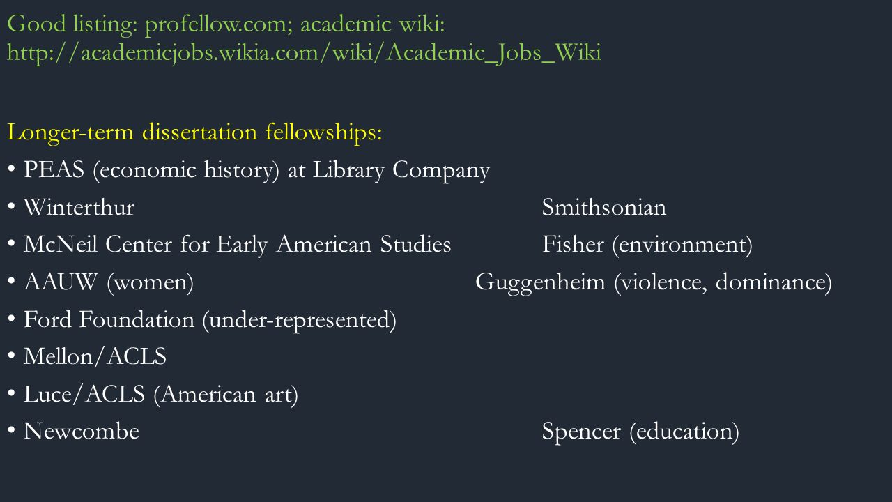 aauw dissertation fellowship wiki