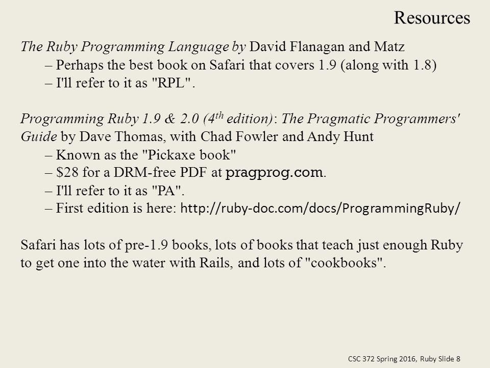 Programming Ruby 1.9 & 2.0 4th Edition Pdf