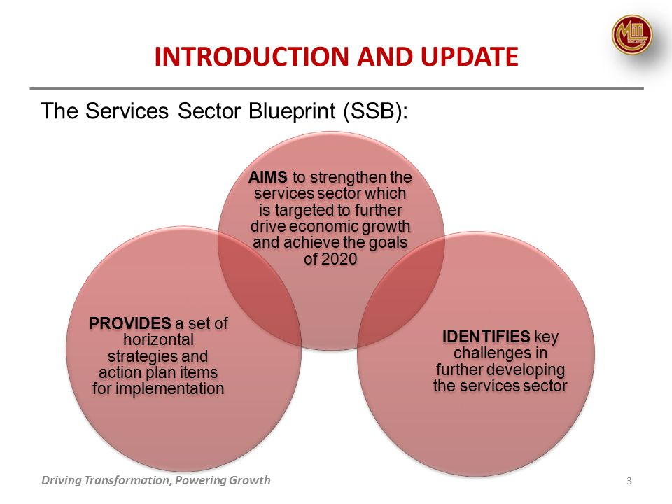 Re cap of the services sector blueprint update on services 3 the malvernweather Choice Image