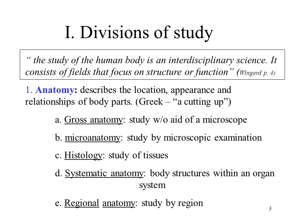 1 Human Anatomy and Physiology Chapter 1 2 Hints for note taking ...