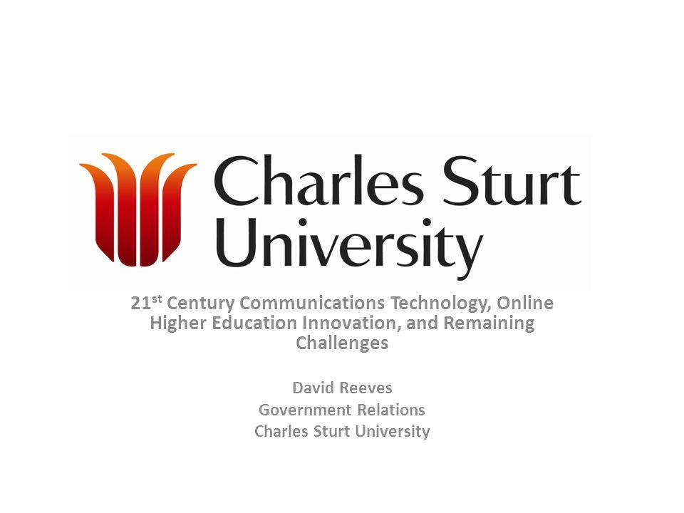 Charles sturt university online