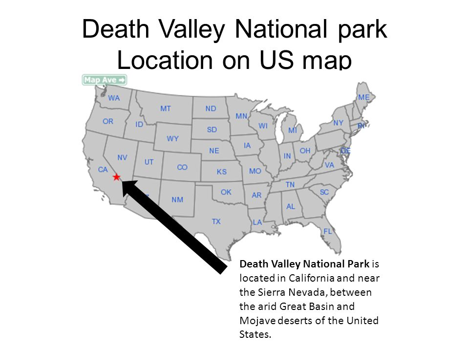 DEATH VALLEY NATIONAL PARK By Karl Krusel. Death Valley National