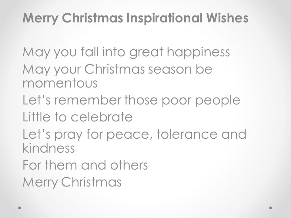 3 merry christmas inspirational