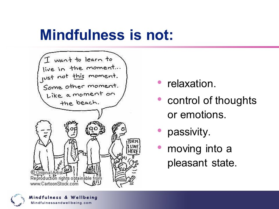 Mindfulness as a Response to Compassion Fatigue A workshop for