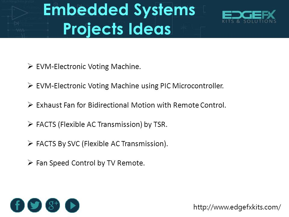 Embedded Systems Projects Ideas  Introduction Embedded Systems