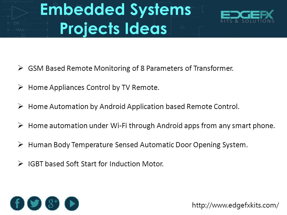 Embedded Systems Projects Ideas  Introduction Embedded