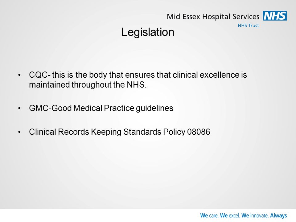 Health Record Keeping The Data Protection Act 1998 Defines A Health Record As Consisting Of Information About The Physical Or Mental Health Or Condition Ppt Download