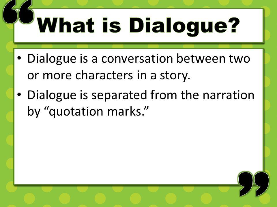 dialogue between 4 people