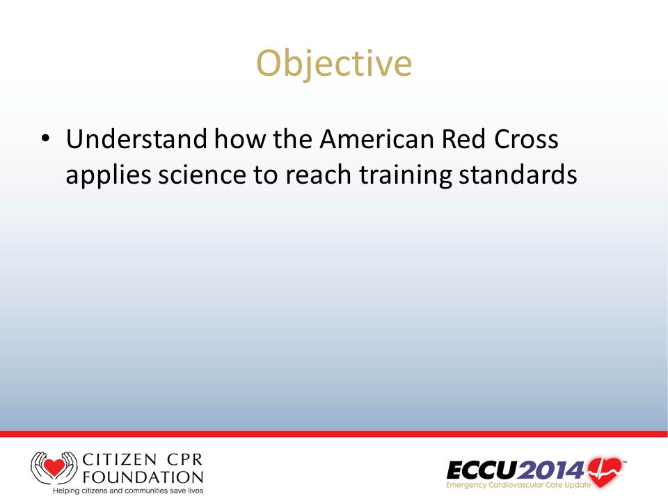 The Scientific Foundations Of The American Red Cross Cpr Training