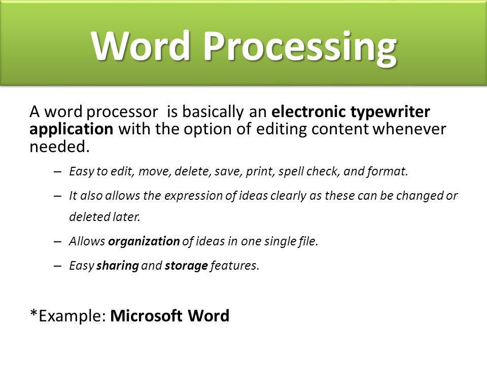 Do Now You Have  Minutes To Finish Your About Me Essay When You  Word Processing A Word Processor Is Basically An Electronic Typewriter  Application With The Option Of Editing