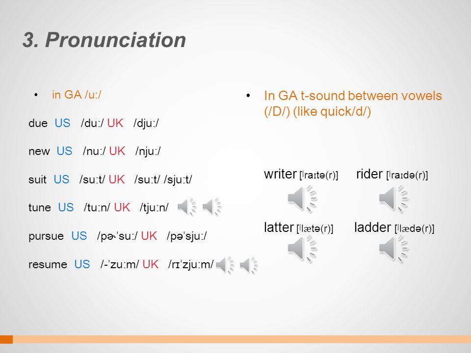 American And British And Britishenglish 1 1 Spelling 2 Vocabulary