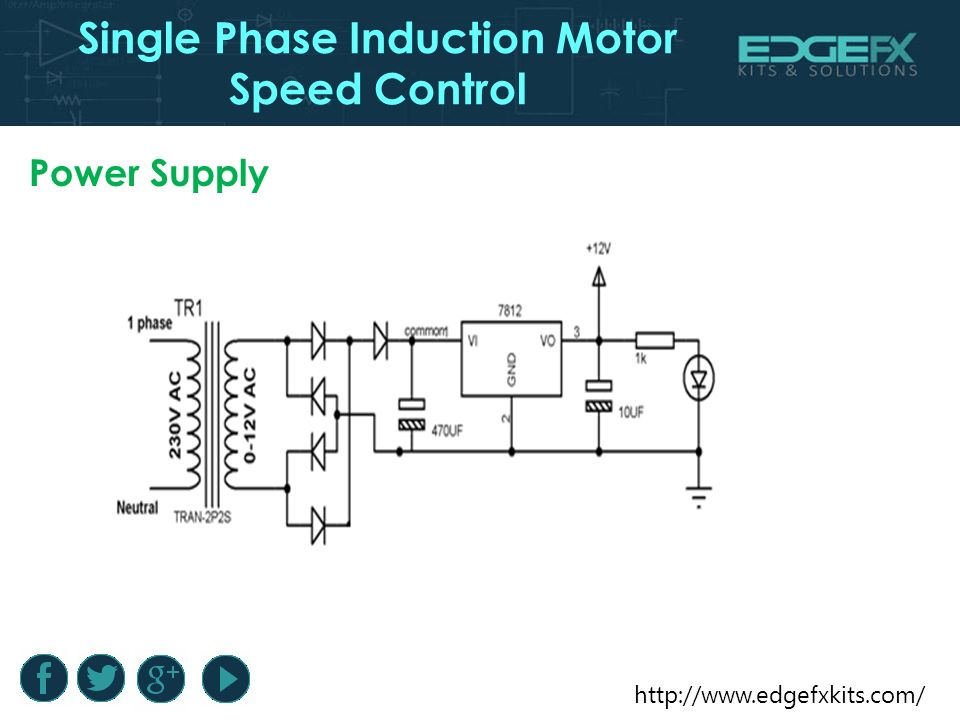Single Phase Induction Motor Speed Control Introduction Single Phase Induction Motor Speed Control Induction Motors Are Ppt Download