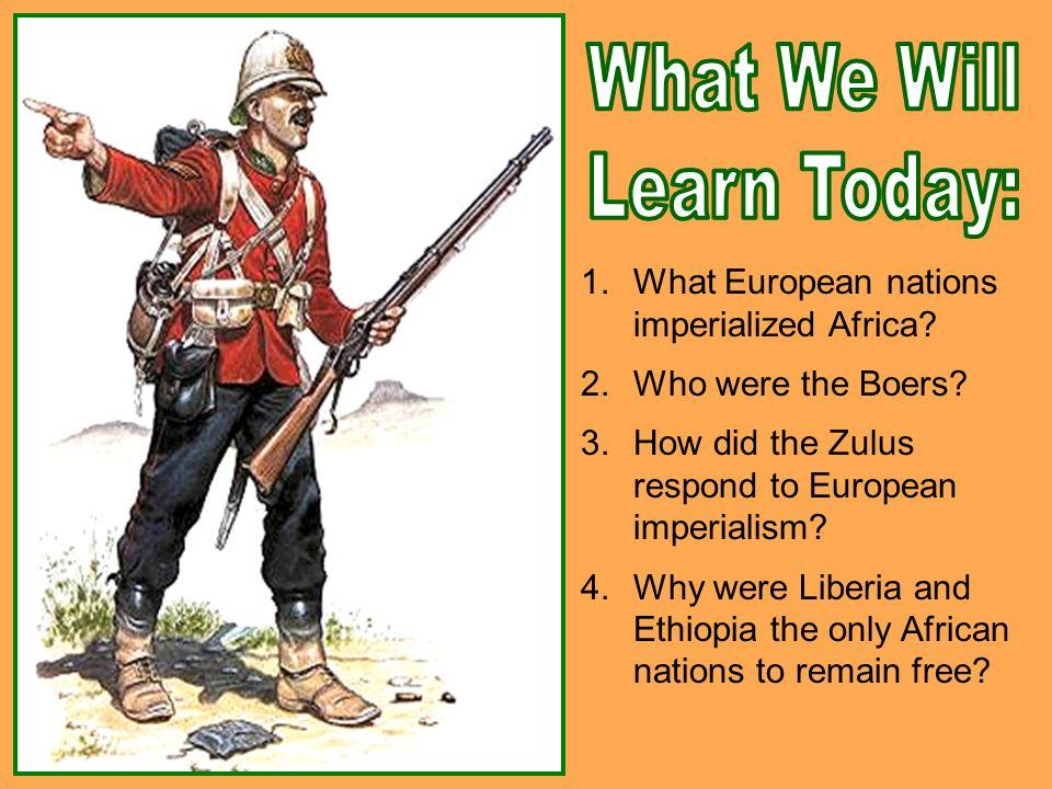 african responses to european imperialism dbq