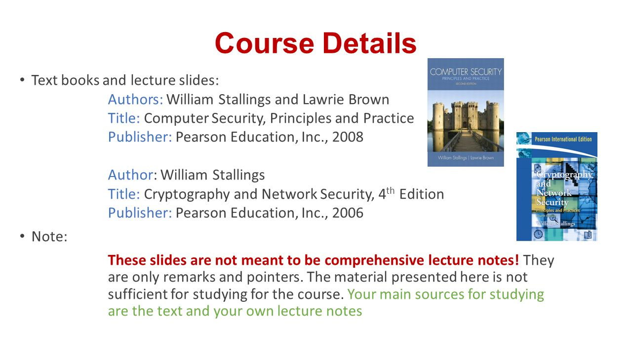 computer security principles and practice 4th edition slides