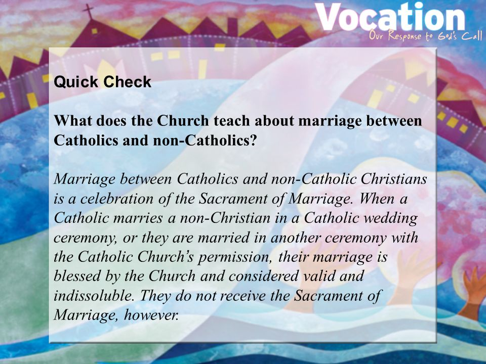 can a non christian get married in church